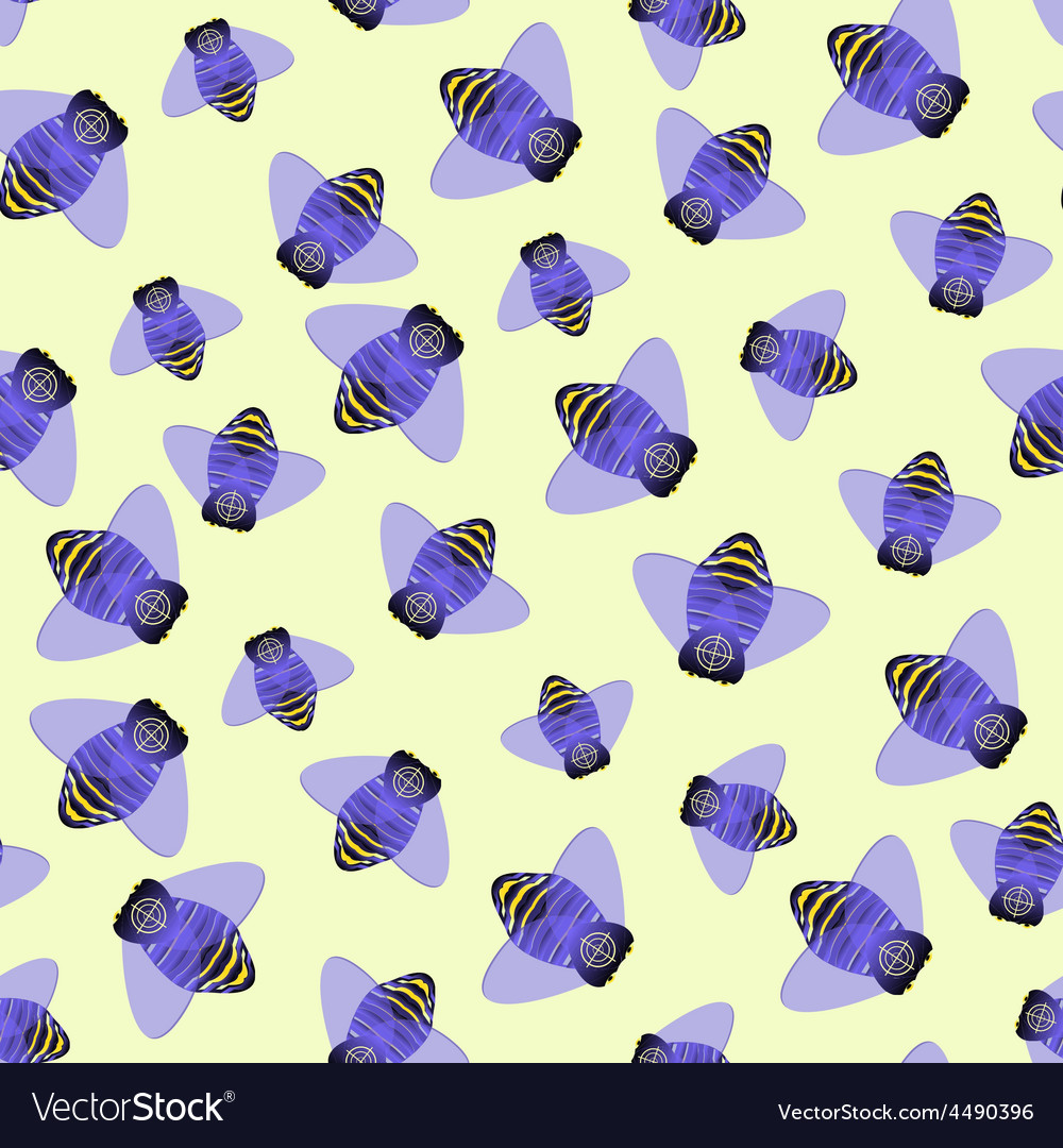 Fly background vector
