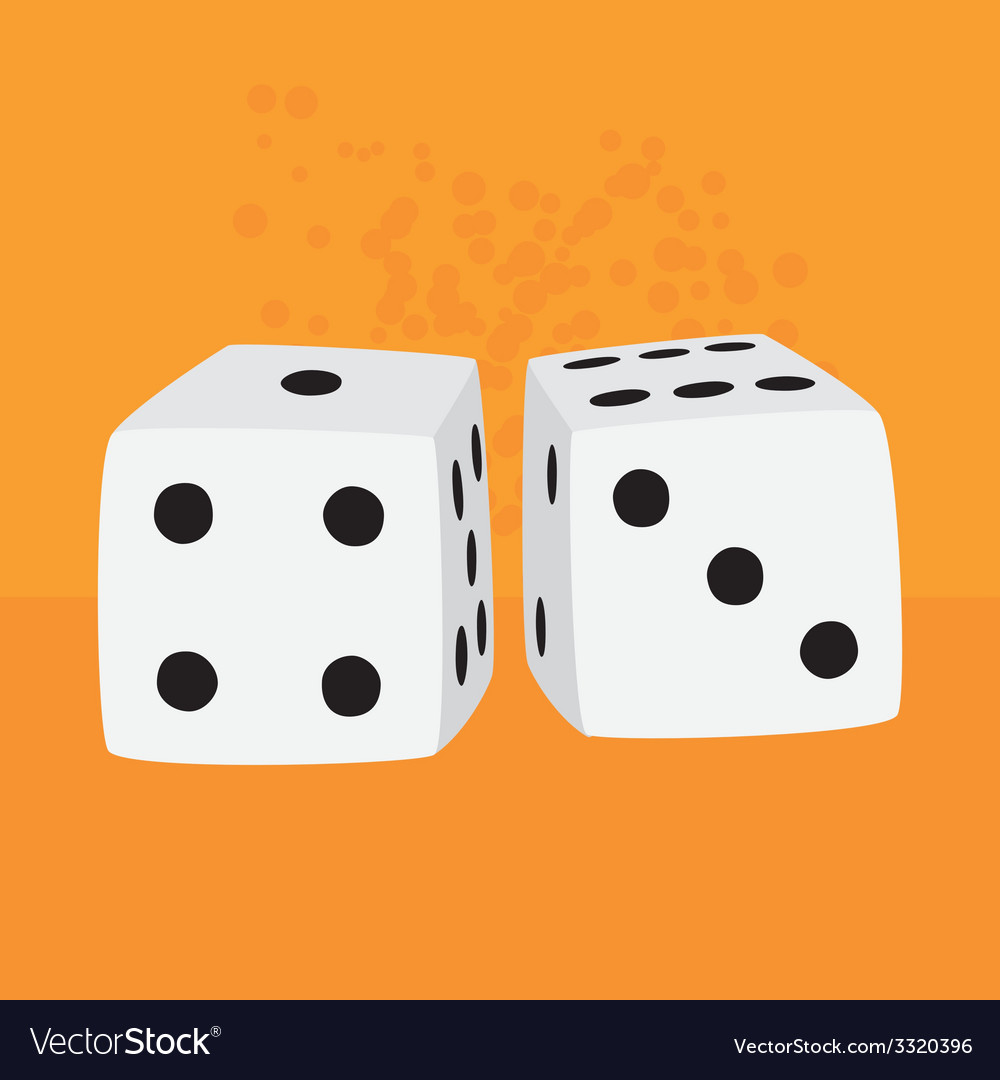 Pair of dices vector | Price: 1 Credit (USD $1)