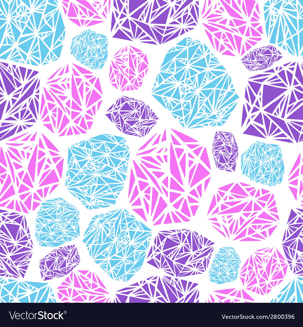 Seamless pattern diamond vector | Price: 1 Credit (USD $1)