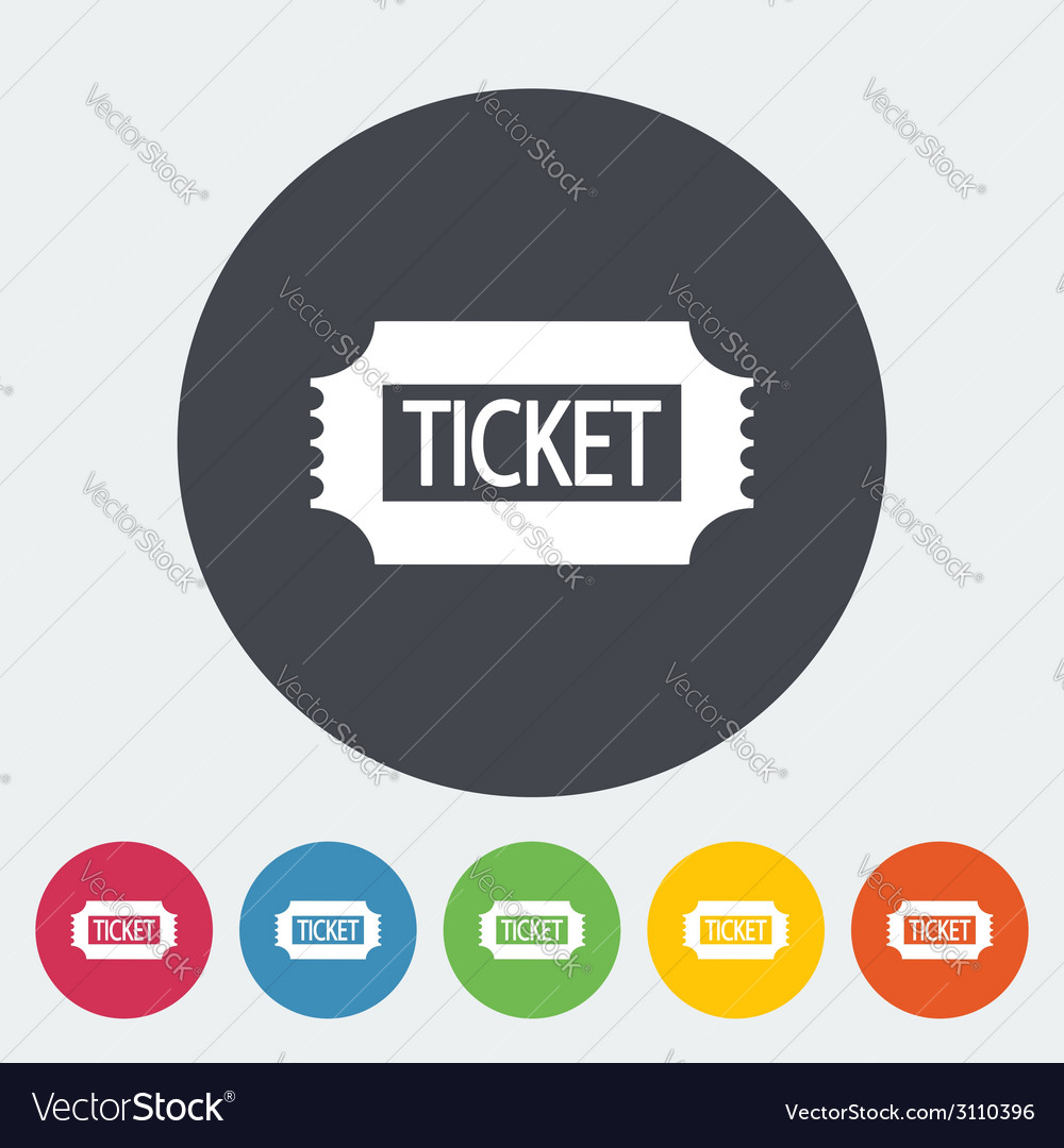 Ticket vector | Price: 1 Credit (USD $1)