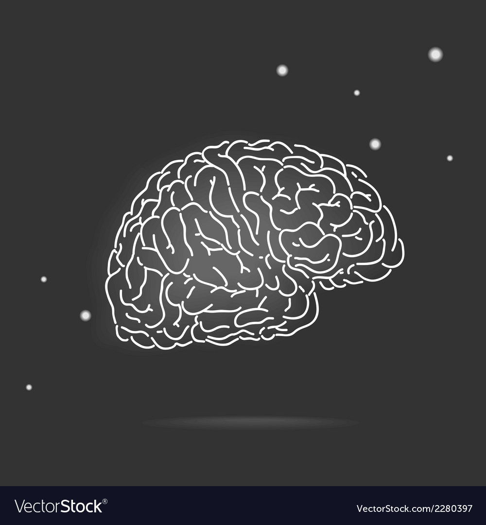 Mysterious brain vector | Price: 1 Credit (USD $1)