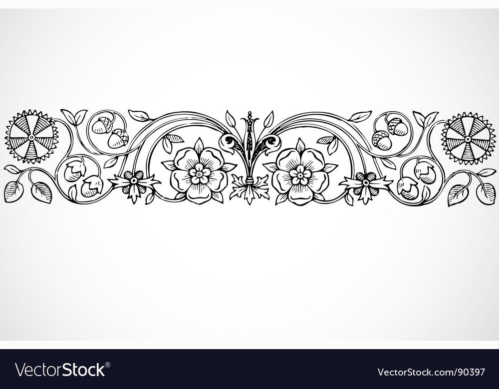 Ornament vector   Price: 1 Credit (USD $1)