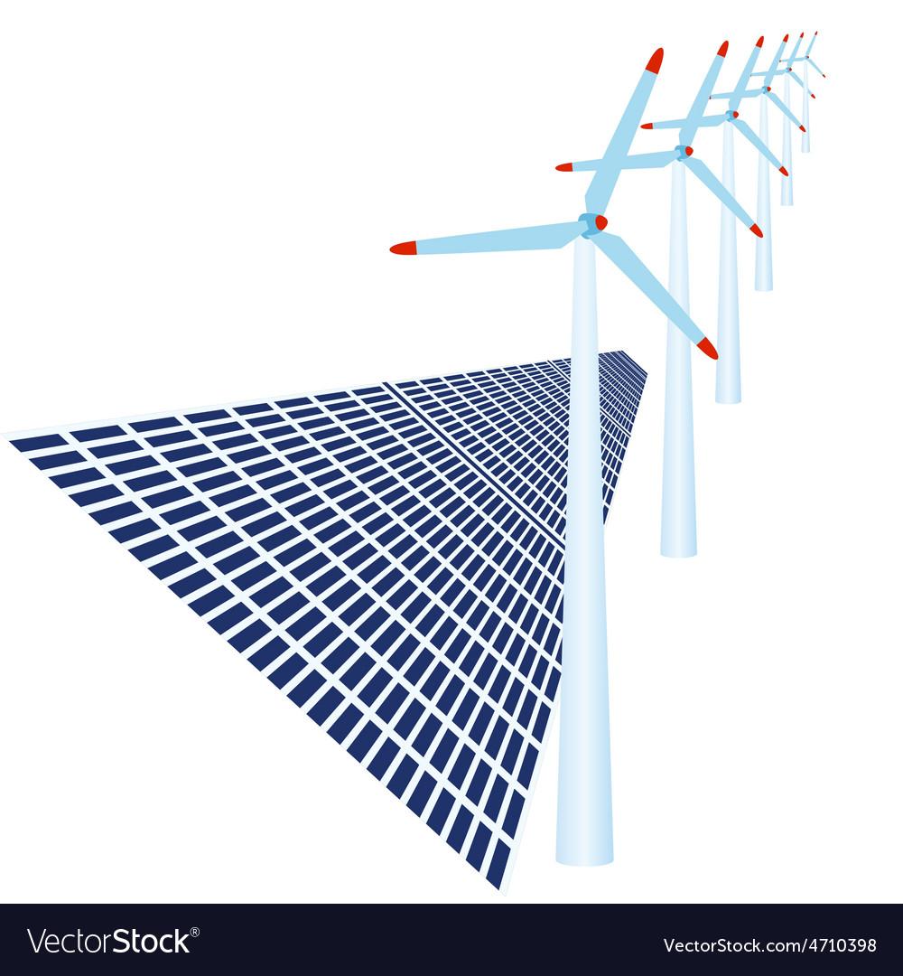 Alternative energy source vector | Price: 1 Credit (USD $1)