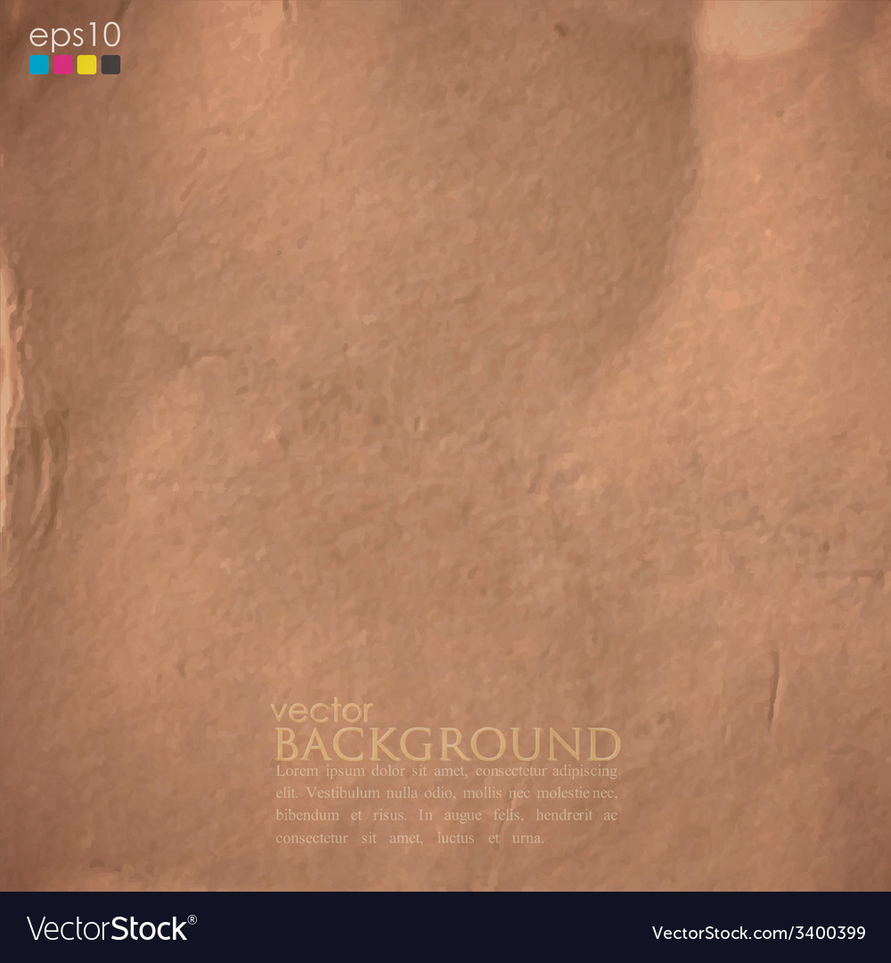 Abstract background with cardboard texture vector | Price: 1 Credit (USD $1)
