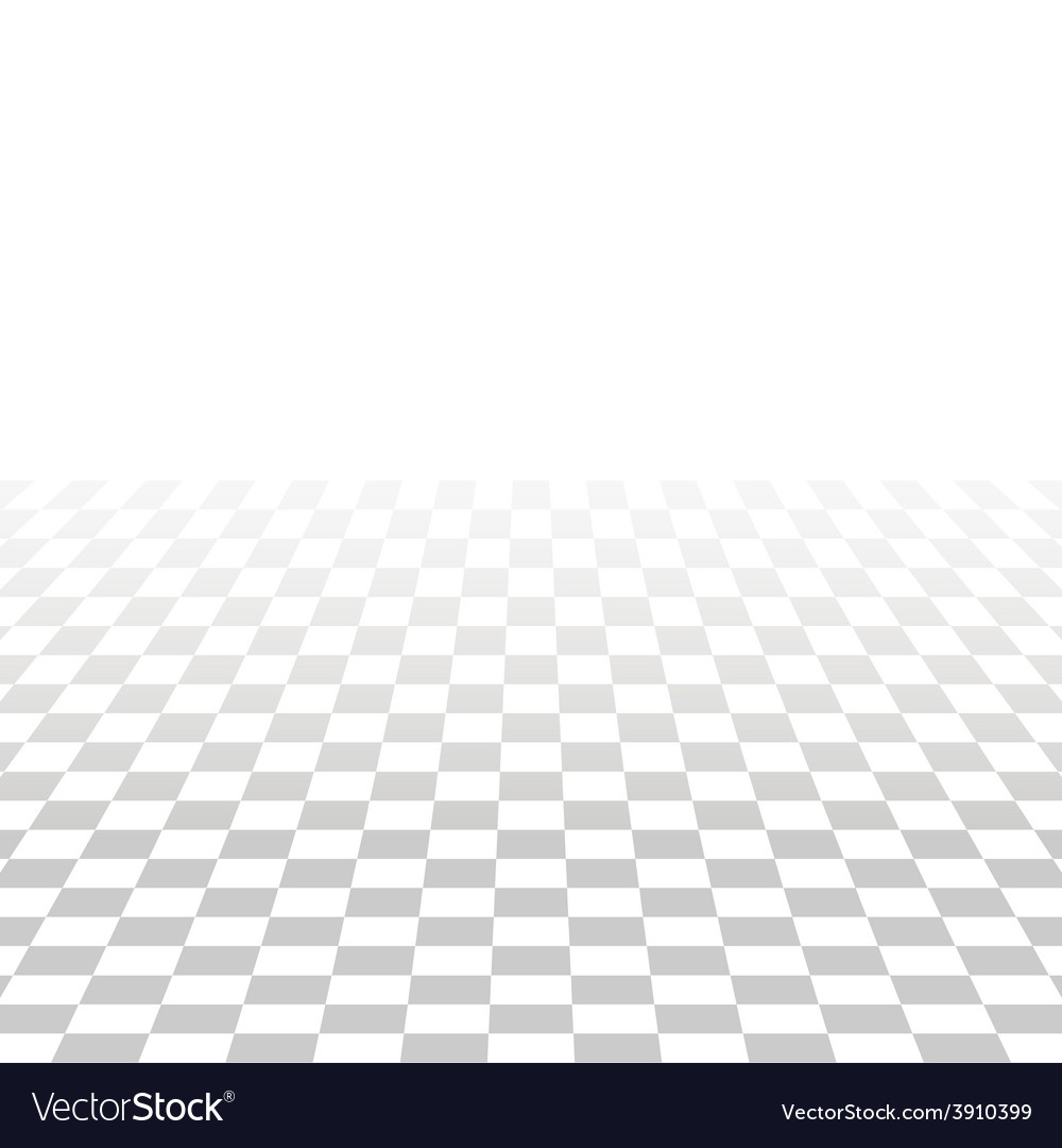 Abstract square tile perspective white and gray vector | Price: 1 Credit (USD $1)