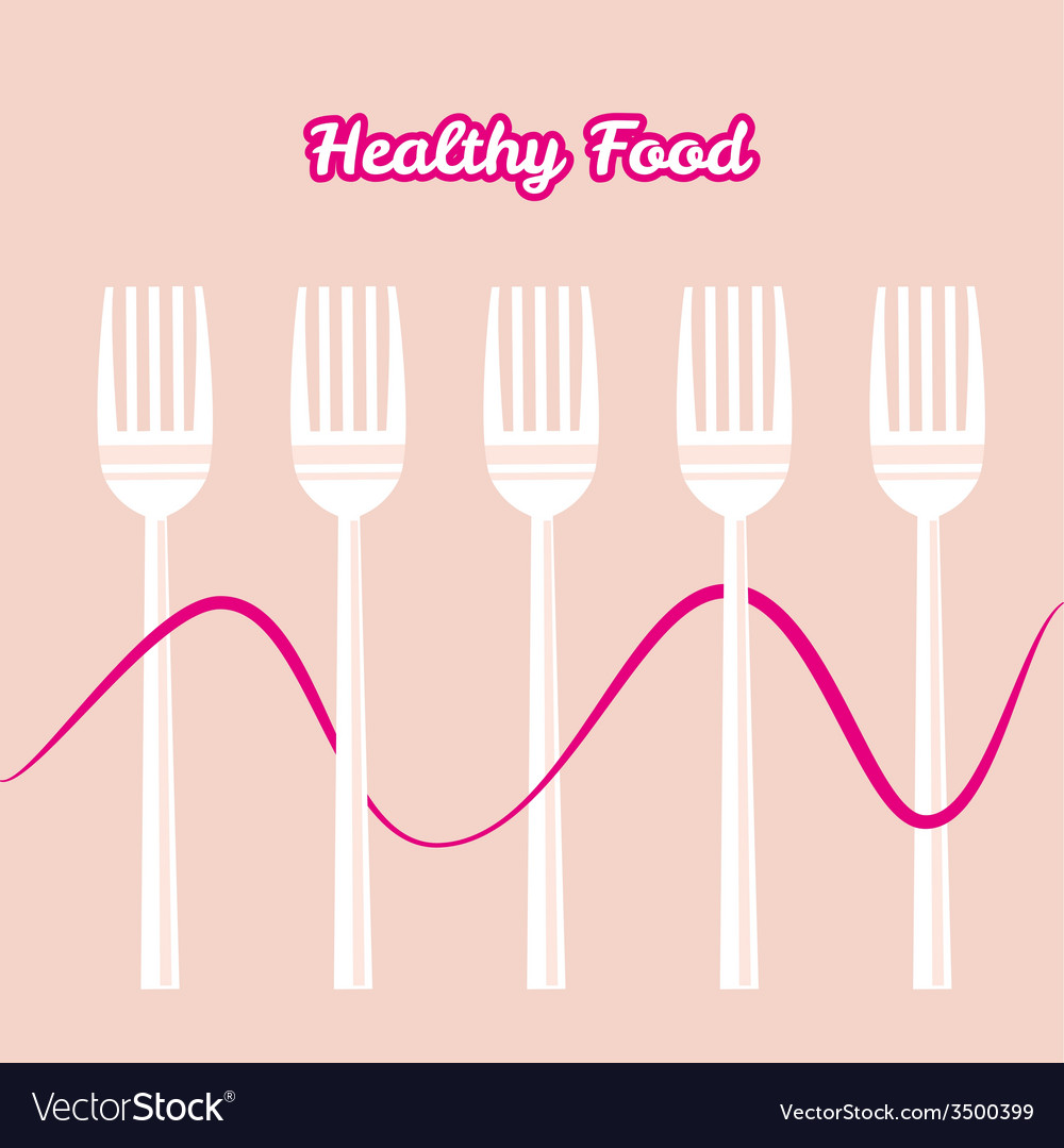Tableware set of fork vector | Price: 1 Credit (USD $1)