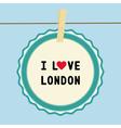 I love london2 vector
