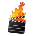 Hot movie vector