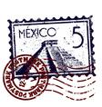 Mexico icon vector