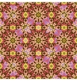 Seamless background oriental ornament kaleidoscope vector