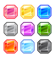 Colourful square diamonds vector