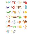 Kids alphabet vector