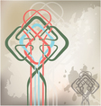 Celtic knot 02 vector