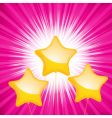 Star shaped balloon starburst vector