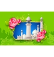 Eid mubarak happy eid background vector