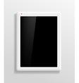 Tablet screen vector