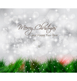 Elegant classic christmas background vector