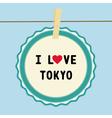 I love tokyo2 vector