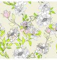 Romantic seamless wallpaper vector