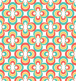 Vintage 80s abstract seamless pattern vector