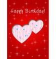 Happy birthday whit love vector