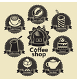 Coffee and tea shop vector