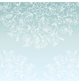 White paper snowflake background vector