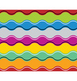 Colorful jolly celebrative wavy background vector