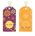 Colorful stars vertical round frame pattern tags vector