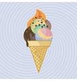 Big ice cream vector