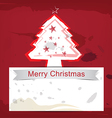 Christmas background ink paint style vector