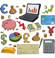 Financial set vector