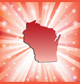 Red wisconsin vector