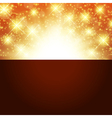 Bright golden background vector