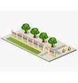 Urban garden vector