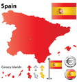 Spanish flag small vector