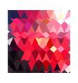 Alizarin crimson abstract low polygon background vector