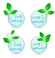 Icons 100 natural vector