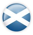 Scotland flag button vector