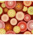 Arabesques seamless pattern vector
