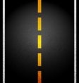 Background asphalt road vector