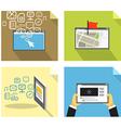 Modern technology concepts vector
