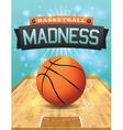 Basketball flyer vector