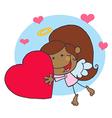 Cupid cartoon vector