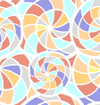 Abstract seamless texture with spiral elements vector