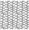 Doodle abstract mesh seamless pattern vector