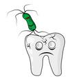 Teeth under attack vector