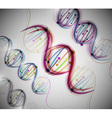 Abstract dna background vector