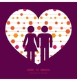 Abstract colorful stripes and shapes couple vector