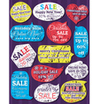 Set of special sale offer labels and banners for c vector